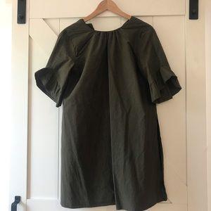 Zara Oversized Olive green tu ic